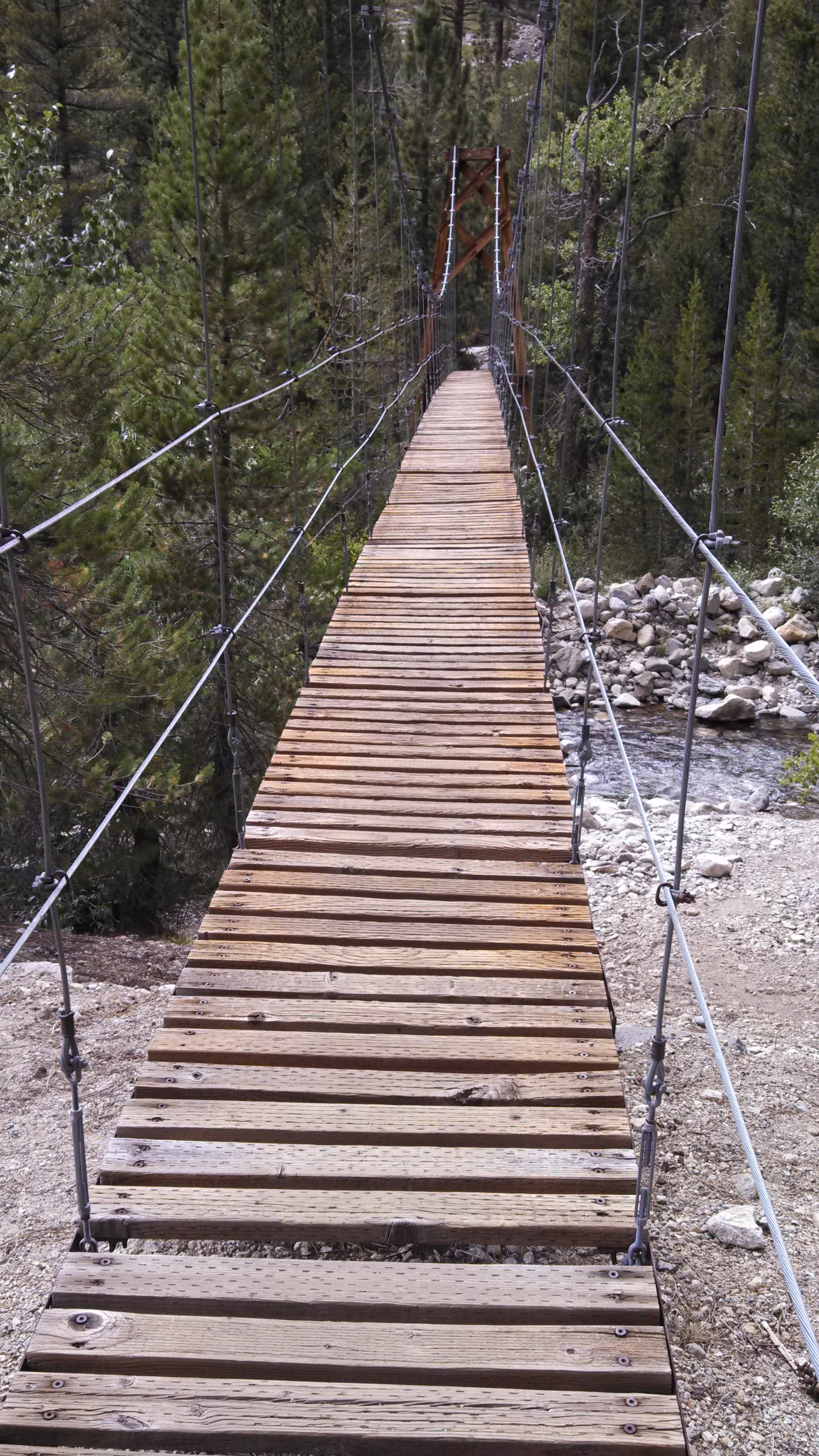 Day 21, Wood's Creek Suspension Bridge